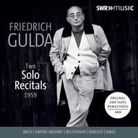 Gulda: Two Solo Recitals 1959
