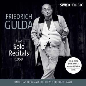 Gulda: Two Solo Recitals 1959
