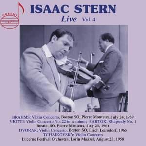 Isaac Stern Live Vol.4