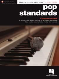 Pop Standards - Singer's Jazz Anthology (High Voice)