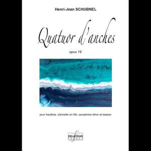 Henri-Jean Schubnel: Quatuor D'Anches Product Image