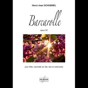Henri-Jean Schubnel: Barcarolle Product Image