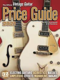 The Official Vintage Guitar Price Guide 2021