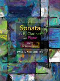 Somers, P: Sonata for B- Clarinet and Piano