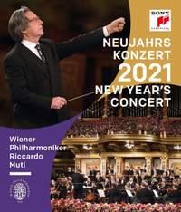 New Year's Concert 2021 (Blu-ray)