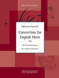 Donizetti, G: Concertino for English Horn