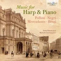 Music For Harp and Piano: Pollini, Negri, Mercadante, Rossi
