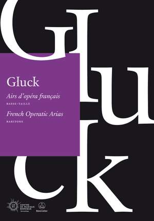 Gluck, Christoph Willibald: French Operatic Arias Baritone Product Image