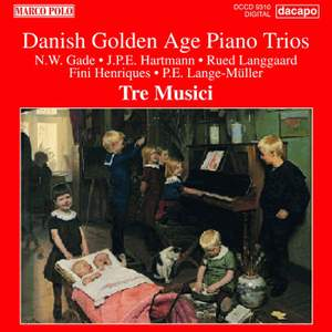 Danish Golden Age Piano Trios Product Image
