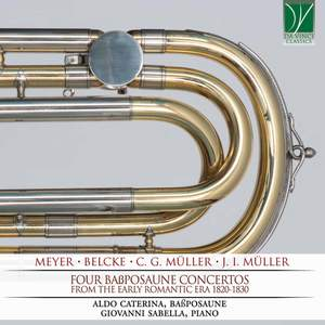 Four Bass Trombone concertos from Early Romantic Era 1820-1830 Product Image