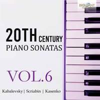 20th Century Piano Sonatas Vol. 6