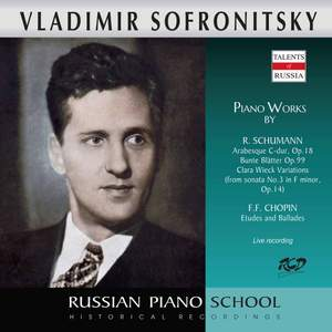 Chopin & Schumann: Piano Works (Live)