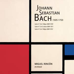 Johann Sebastian Bach. Suites 1010, 1011, 1012. Archilaúd Product Image