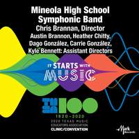 2020 Texas Music Educators Association (TMEA): Mineola High School Symphonic Band [Live]
