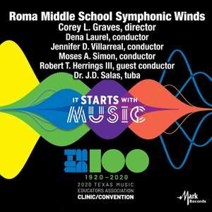 2020 Texas Music Educators Association (TMEA): Roma Middle School Symphonic Winds [Live]