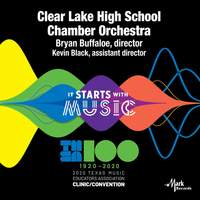 2020 Texas Music Educators Association (TMEA): Clear Lake High School Chamber Orchestra [Live]