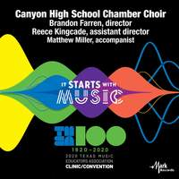 2020 Texas Music Educators Association (TMEA): Canyon High School Chamber Choir [Live]