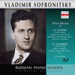 Chopin & Schubert: Piano Works (Live)