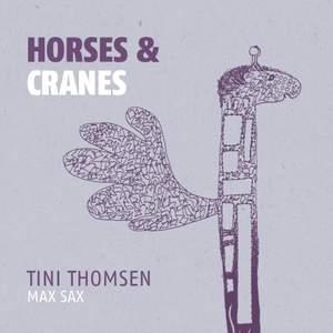 Horses & Cranes Product Image