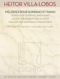 Heitor Villa-Lobos: Œuvres pour soprano et piano