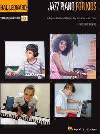Hal Leonard Jazz Piano for Kids Method Book