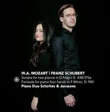 Mozart: Sonata For Two Pianos and Schubert: Fantasie For Piano Four Hands