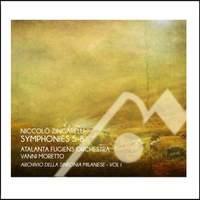 Niccolo Zingarelli: Symphonies Nos. 5-8