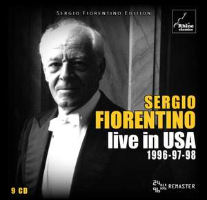 Sergio Fiorentino - Live in the USA 1996-97-98 Product Image
