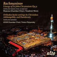 Rachmaninov: Liturgy of St. John Chrysostom, Op.31
