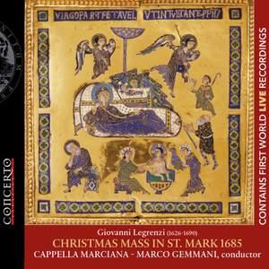 Legrenzi: Christmas Mass Product Image