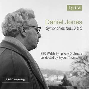 Daniel Jones: Symphonies Nos. 3 and 5 Product Image