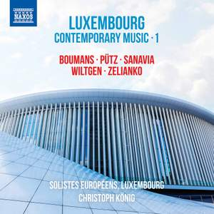 Luxembourg Contemporary Music Vol. 1 Product Image