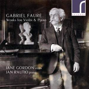 Fauré: Works for Violin & Piano Product Image