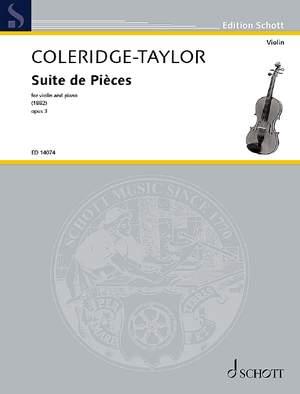 Coleridge-Taylor, S: Suite de Pièces op. 3 Product Image
