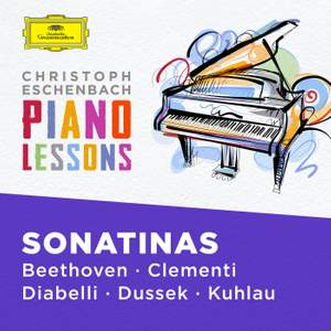 Piano Lessons - Piano Sonatinas by Beethoven, Clementi, Diabelli, Dussek, Kuhlau