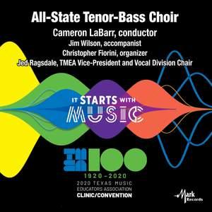 2020 Texas Music Educator's Association (TMEA): All-State Tenor-Bass Choir [Live]