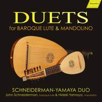 Duets for Baroque Lute & Mandolino