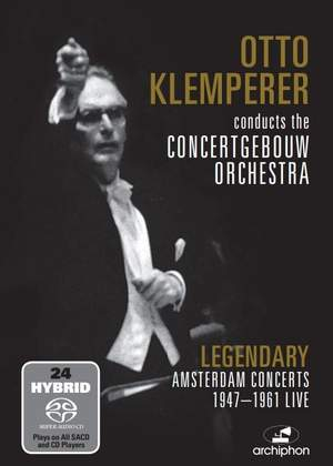 Otto Klemperer conducts the Concertgebouw Orchestra Product Image