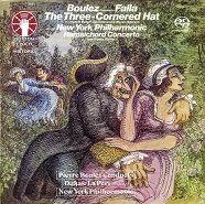 Falla: The Three-Cornered Hat & Harpsichord Concerto & Dukas: La Péri