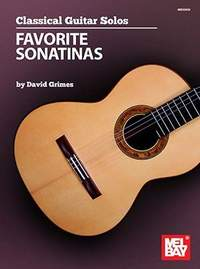 David Grimes: Classical Guitar Solos - Favorite Sonatinas