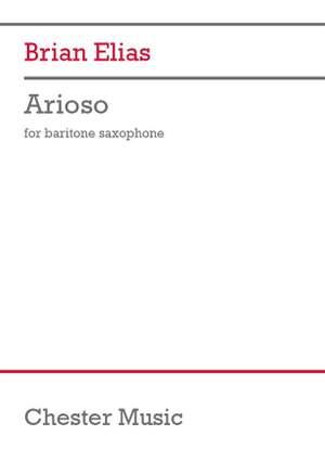 Brian Elias: Arioso
