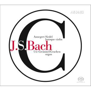 Works of JS Bach For Baroque Violin & Organ Product Image