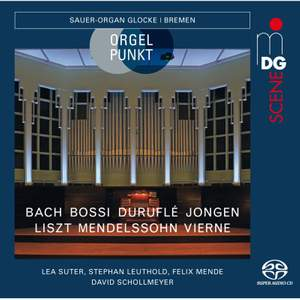 Organ Works By Bach, Bossi, Durufle, Jongen