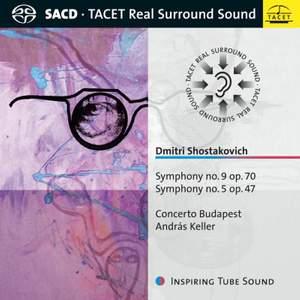 Dmitri Shostakovich. Symphony No. 9 Op. 70 & No. 5 Op. 47