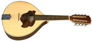 GEWA Flat mandolin Pro Natura Silver
