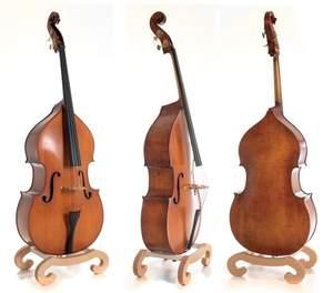 GEWA Double bass Premium Line Semi-solid Model 1/4
