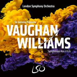 Vaughan Williams: Symphonies Nos. 4 & 6 Product Image