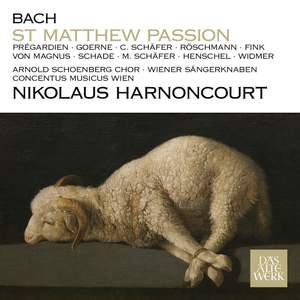 J S Bach: St Matthew Passion, BWV244