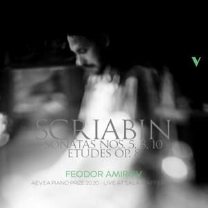 Scriabin: Piano Sonatas Nos. 5, 8 & 10 & 12 Etudes, Op. 8 (Live)