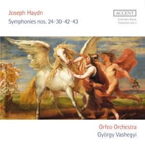 Joseph Haydn: Symphonies No's 24, 30, 42 & 43